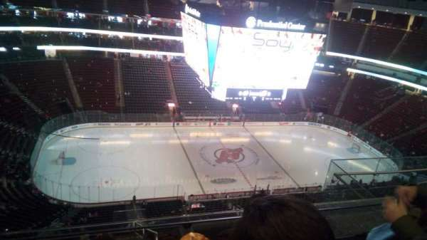 Prudential Center, sección: 210, fila: 5, asiento: 8
