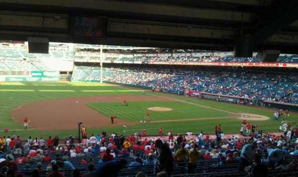 Angel Stadium, sección: T210, fila: WC, asiento: 2,3