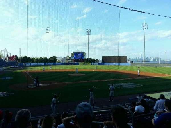 Richmond County Bank Ballpark, sección: 10, fila: L, asiento: 3