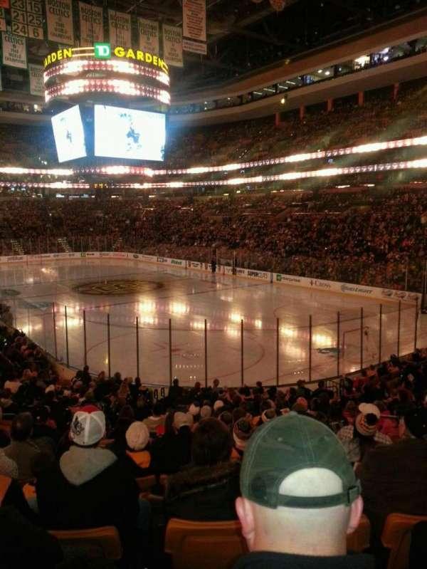 TD Garden, sección: Loge 19, fila: 19, asiento: 4