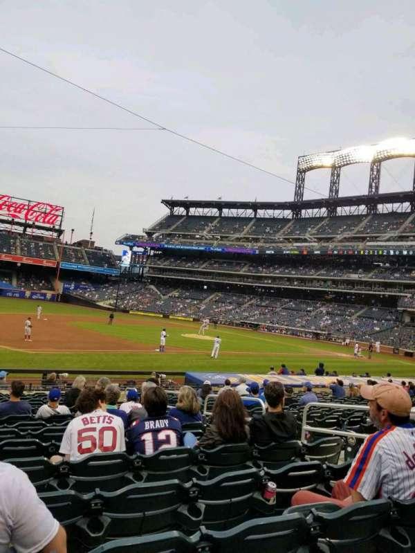 Citi Field, sección: 124, fila: 16, asiento: 7