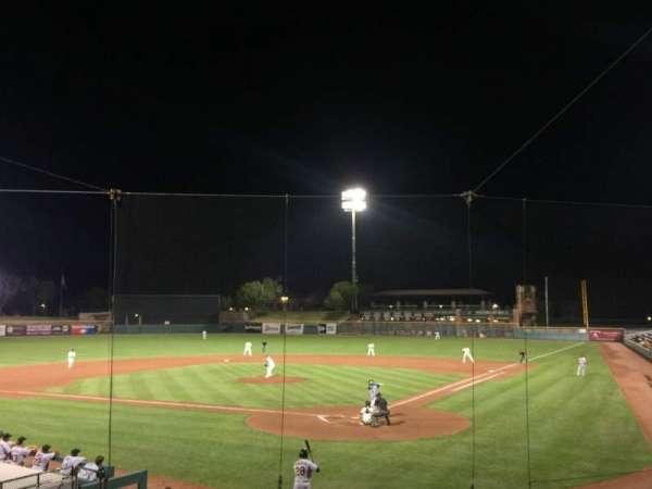 Scottsdale Stadium, sección: 201, fila: O, asiento: 11