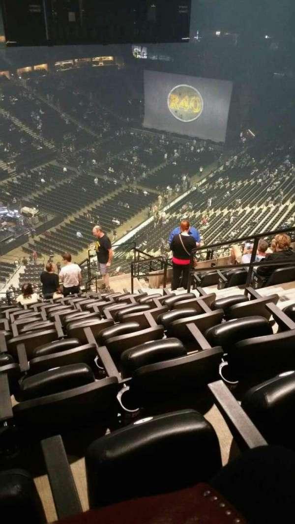 Pepsi Center, sección: 314, fila: 14, asiento: 4