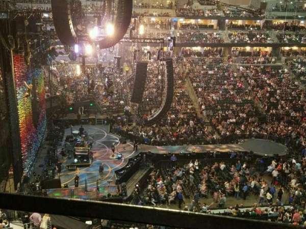 Pepsi Center, sección: 349, fila: 1, asiento: 13