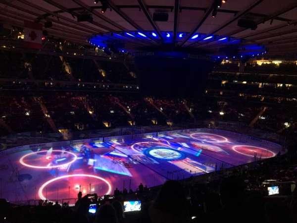 Madison Square Garden, sección: 208, fila: 7, asiento: 10