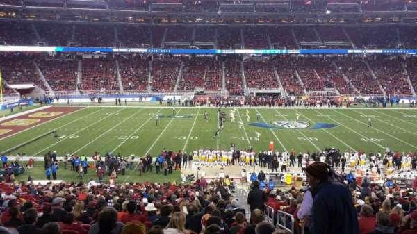 Levi's Stadium, sección: C140, fila: 35W, asiento: 1