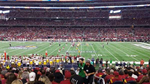 AT&T Stadium, sección: c109, fila: 19, asiento: 1