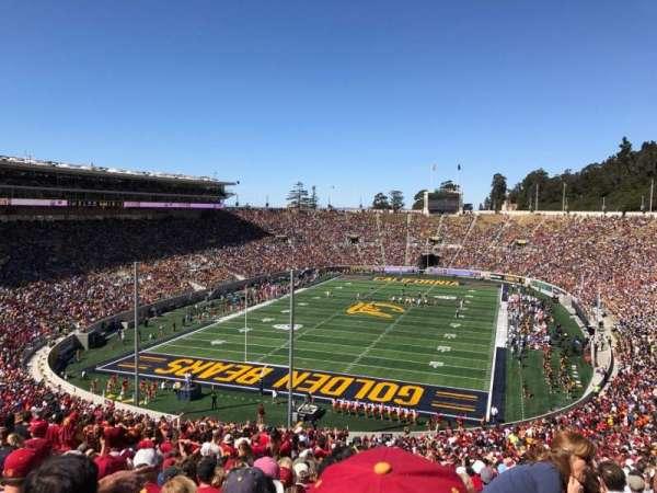 California Memorial Stadium, sección: N, fila: 74, asiento: 1