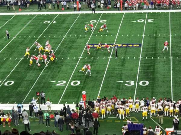 AT&T Stadium, sección: C337, fila: 16, asiento: 1