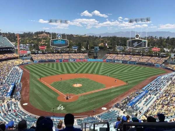 Dodger Stadium, sección: 2RS, fila: M, asiento: 22
