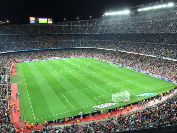 Camp Nou, sección: 416, fila: 1, asiento: 10