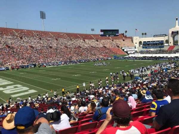 Los Angeles Memorial Coliseum, sección: 10L, fila: 29, asiento: 16