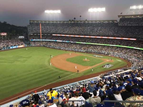 Dodger Stadium, sección: 39RS, fila: R, asiento: 5