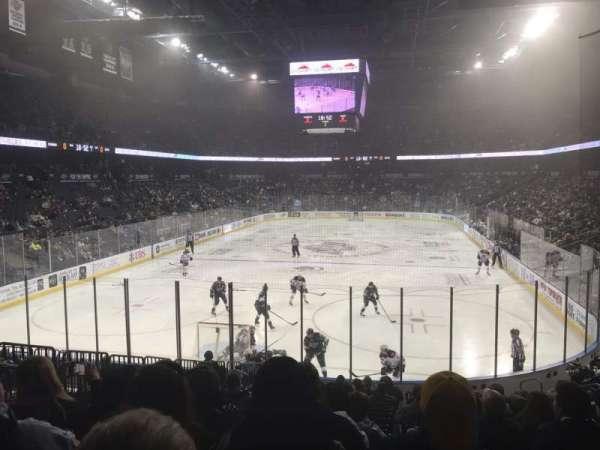 Toyota Arena, sección: 120, fila: O, asiento: 15