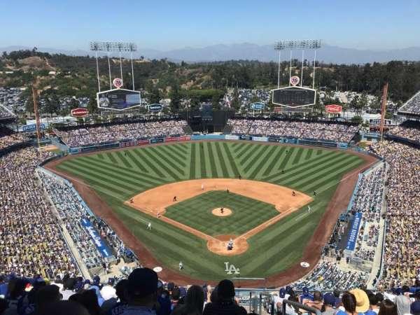 Dodger Stadium, sección: 3TD, fila: N, asiento: 1