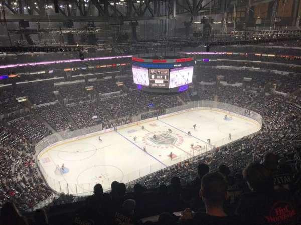 Staples Center, sección: 321, fila: 12, asiento: 16