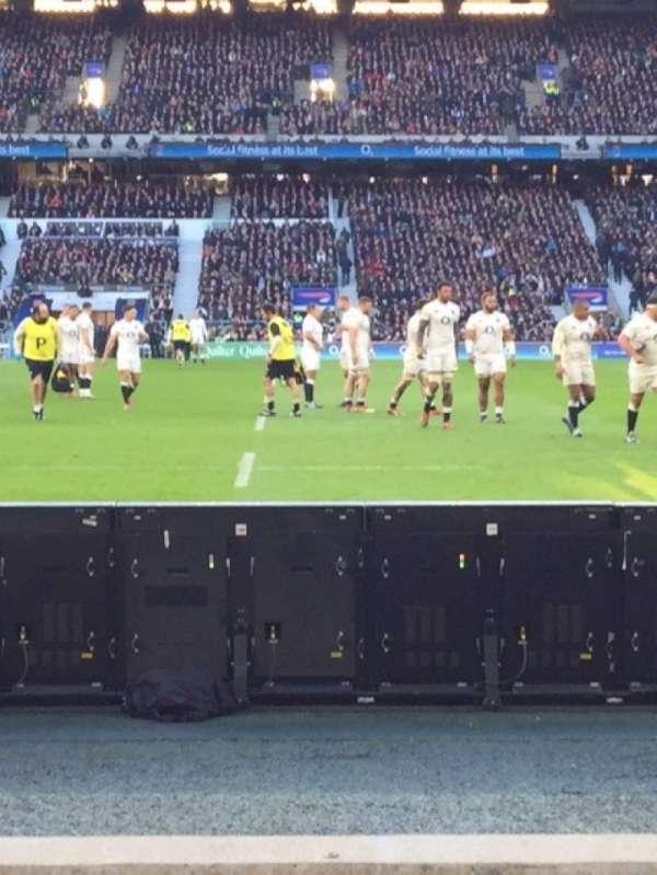 Twickenham Stadium, sección: L24, fila: 3, asiento: 184