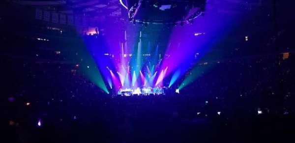 Madison Square Garden, sección: 1, fila: 18, asiento: 1