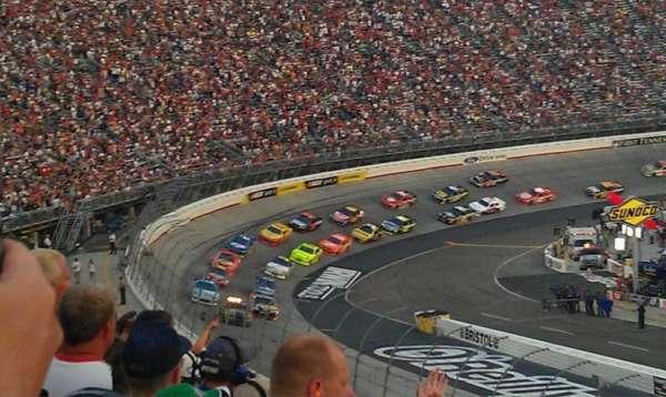 Bristol Motor Speedway, sección: Allison F, fila: 27, asiento: 15