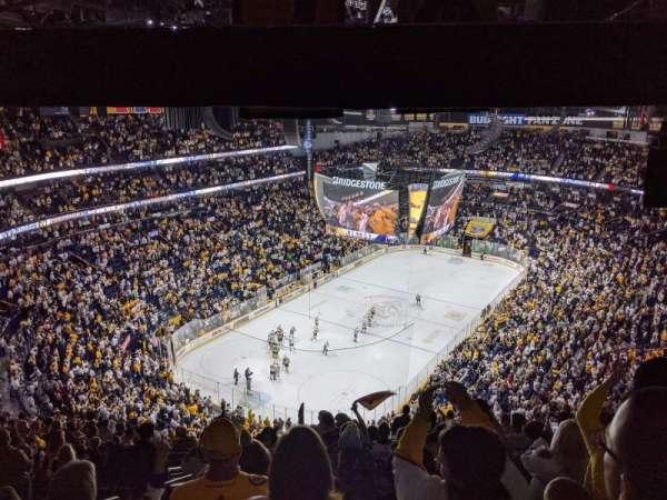 Bridgestone Arena, sección: 304, fila: S, asiento: 20