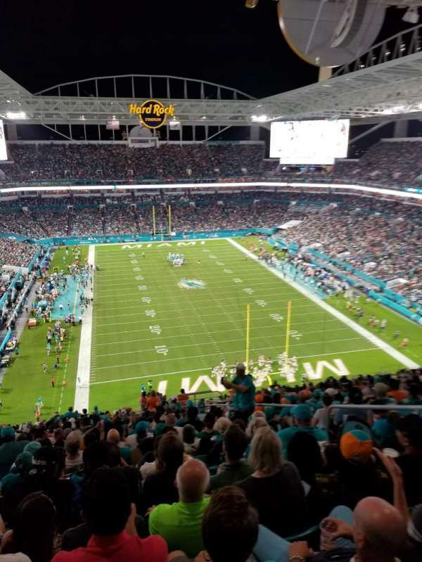 Hard Rock Stadium, sección: 333