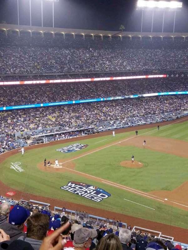 Dodger Stadium, sección: 24RS, fila: S, asiento: 21