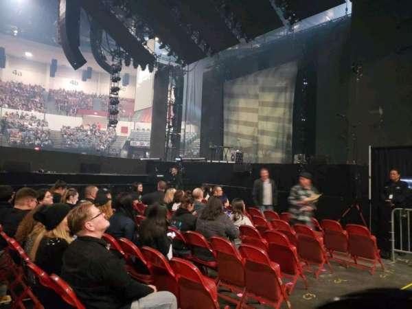 Pechanga Arena, sección: LL11, fila: 1, asiento: 7,8