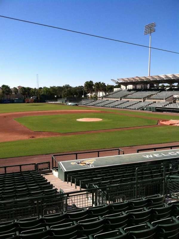 Ed Smith Stadium, sección: 219, fila: 7, asiento: 12