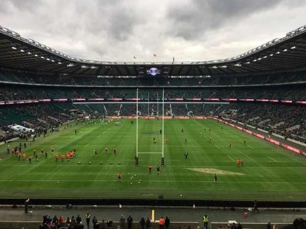 Twickenham Stadium, sección: M45, fila: 59, asiento: 196