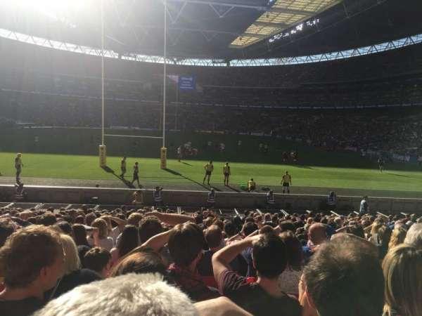 Wembley Stadium, sección: 111, fila: 20, asiento: 263