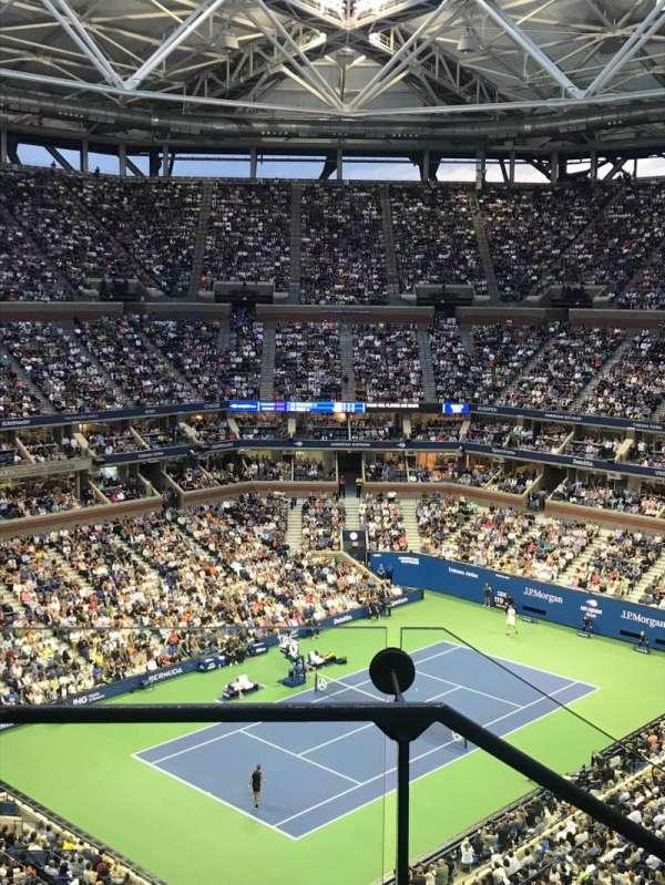 Arthur Ashe Stadium, sección: 306, fila: C, asiento: 18
