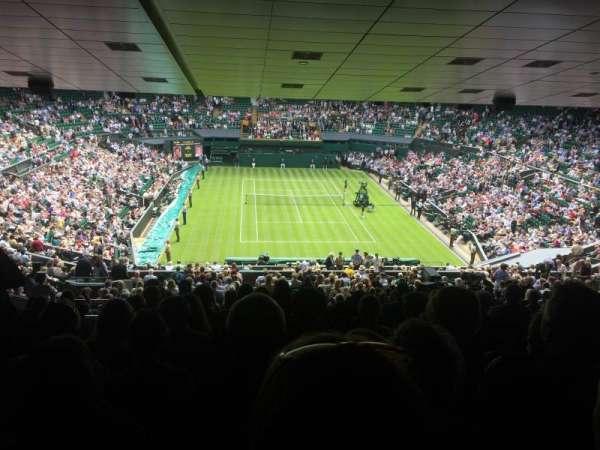 Wimbledon, Centre Court, sección: 511, fila: ZB, asiento: 210
