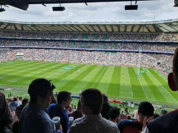 Twickenham Stadium, sección: M4, fila: 69, asiento: 91