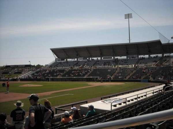 Hammond Stadium, sección: 115, fila: 7, asiento: 1