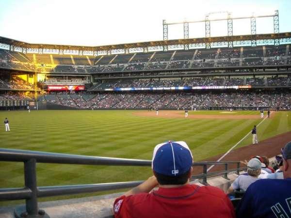 Coors Field, sección: 150, fila: 18, asiento: 3