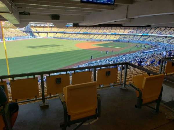 Dodger Stadium, sección: 161LG, fila: W, asiento: 2