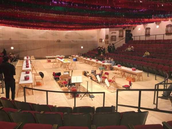 Circle in the Square Theatre, sección: Orchestra 100 (Odd), fila: F, asiento: 109
