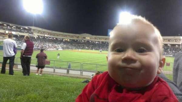 Raley Field, sección: grass, fila: open seat