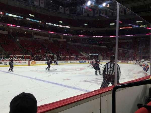PNC Arena, sección: 121, fila: B, asiento: 2