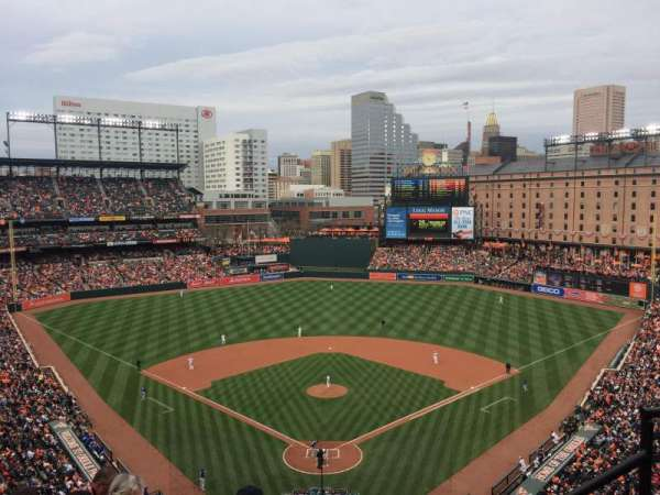 Oriole Park at Camden Yards, sección: 336, fila: 10