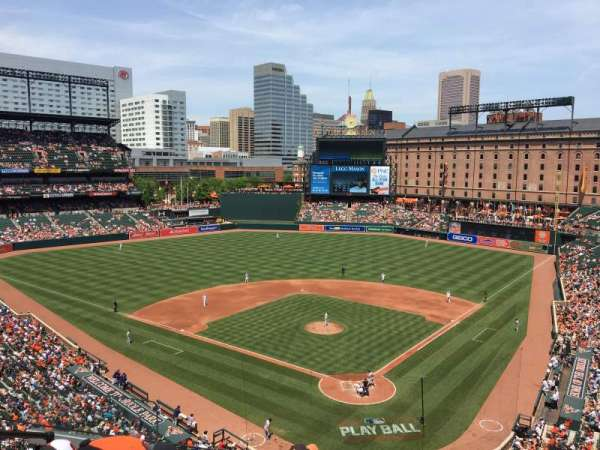 Oriole Park at Camden Yards, sección: 340, fila: 5