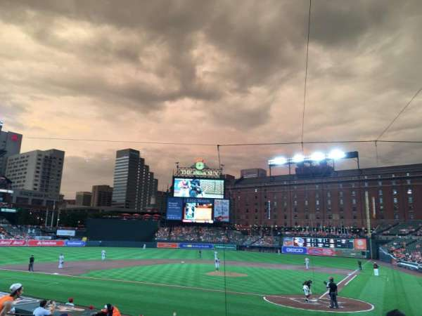 Oriole Park at Camden Yards, sección: 44, fila: 16