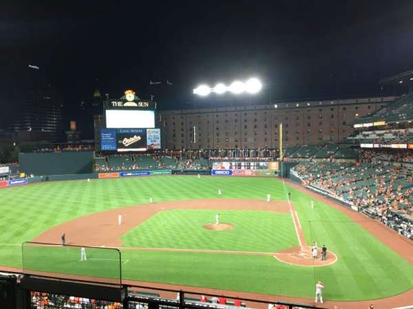 Oriole Park at Camden Yards, sección: 244, fila: 4