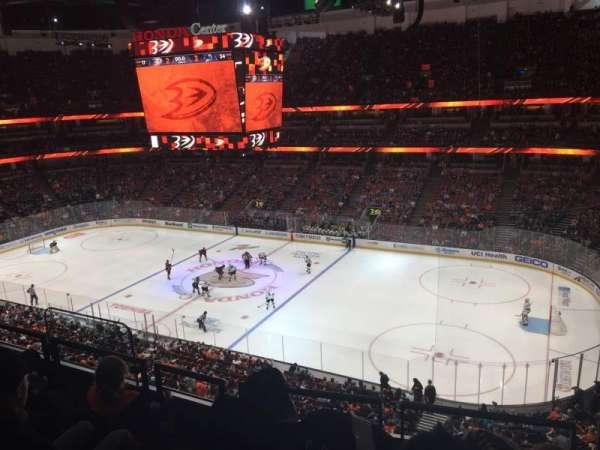 Honda Center, sección: 430, fila: D, asiento: 7
