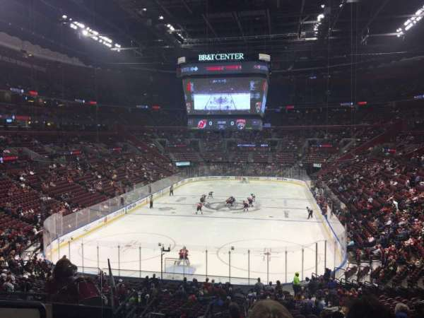 BB&T Center, sección: 108, fila: 27