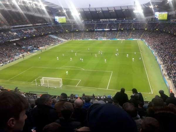 Etihad Stadium (Manchester), sección: 314, fila: K, asiento: 358