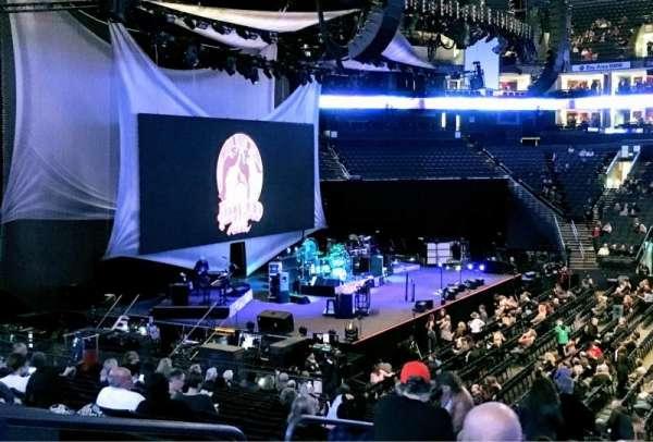 Oracle Arena, sección: 115, fila: 20, asiento: 10
