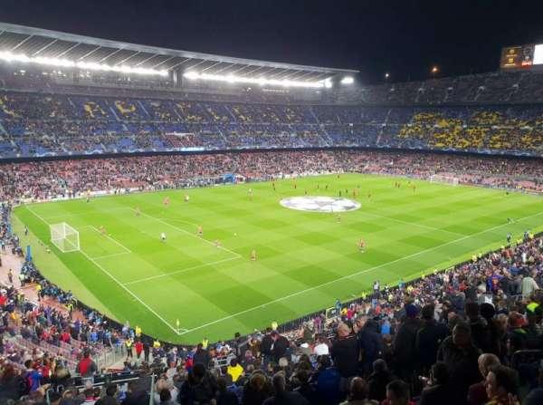 Camp Nou, sección: 329, fila: 35, asiento: 108