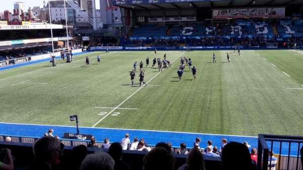 Cardiff Arms Park, sección: 14, fila: F, asiento: 19