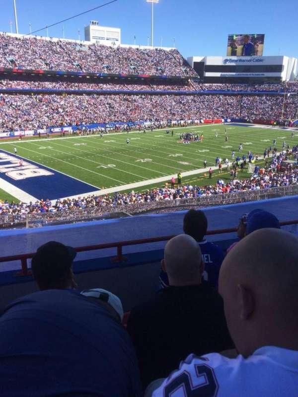 New Era Field, sección: 235, fila: 5, asiento: 9